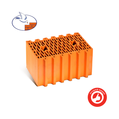 Керамический блок поризованный 12.3НФ М-100 Гжель