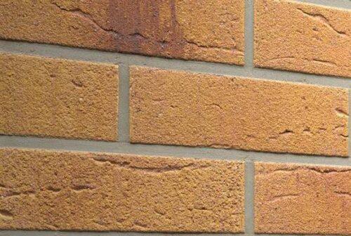 Клинкерная фасадная плитка Feldhaus Klinker R287 Amari viva rustico aubergine