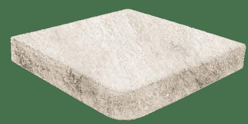 Evolution Stone White ступень угловая с капиносом 33x33