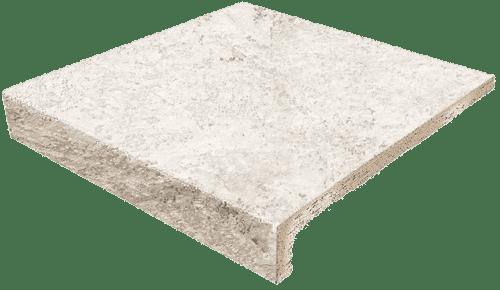 Evolution Stone White ступень прямая с капиносом 31x33
