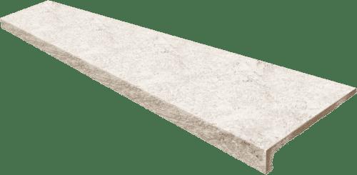 Evolution Stone White ступень прямая с капиносом 33x120