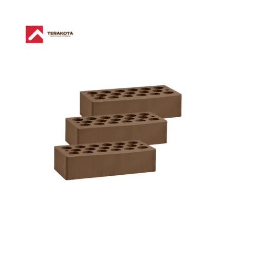 Кирпич керамический пустотелый (1 НФ) - Шоколад