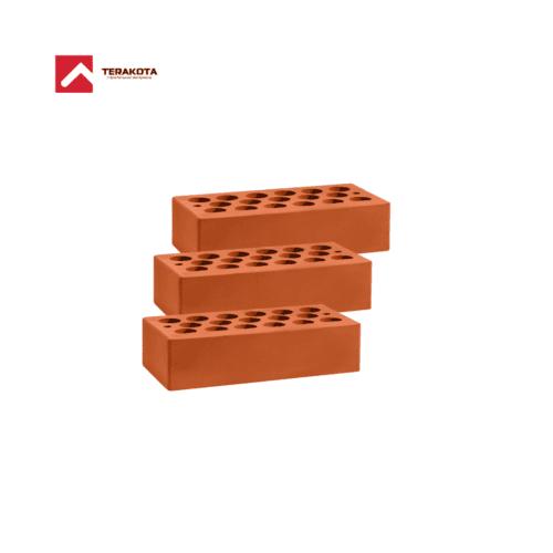 Кирпич керамический пустотелый (1 НФ) - Красный