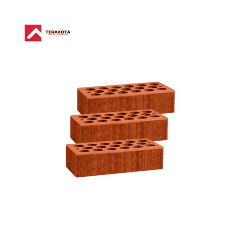 Кирпич керамический пустотелый (1 НФ) - Красный бархат