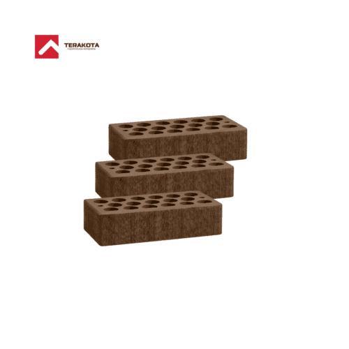 Кирпич керамический пустотелый (1 НФ) - Шоколад бархат