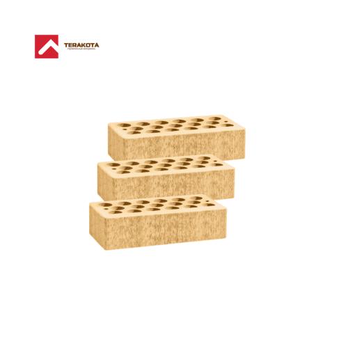 Кирпич керамический пустотелый (1 НФ) - Солома бархат
