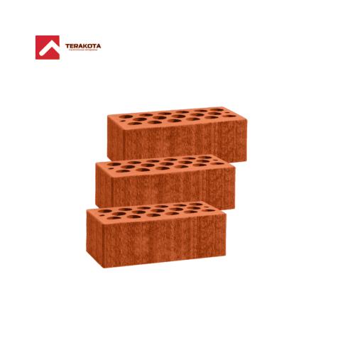 Кирпич керамический пустотелый (1.4 НФ) - Красный бархат