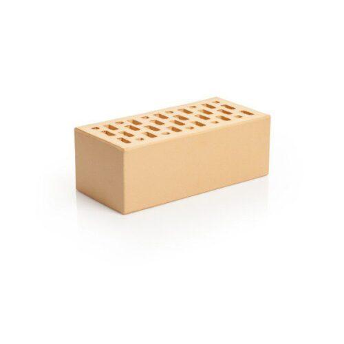 Кирпич лицевой клинкерный Магма Керамик жемчуг одинарный гладкий