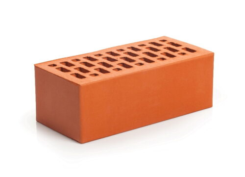 Кирпич лицевой клинкерный Магма Керамик красный полуторный гладкий