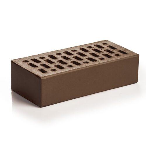 Кирпич лицевой клинкерный Магма Керамик шоколад одинарный гладкий