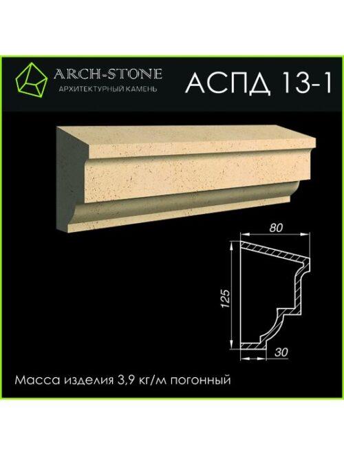 Подоконник АС ПД13-1