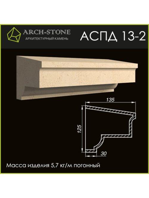 Подоконник АС ПД13-2