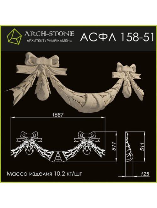 Филенка АС ФЛ158-51