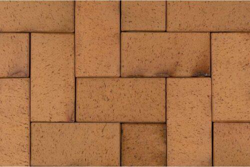 Клинкерная брусчатка Antik gelb kohlebrand 0825 (200x100x52)