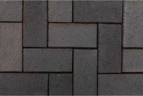 Клинкерная брусчатка Berlin blau-anthrazit 0675 (200x100x52)
