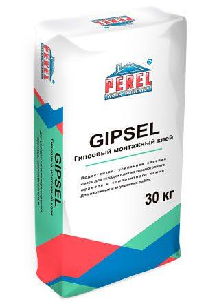Гипсовый клей GIPSEL для монтажа ПГП