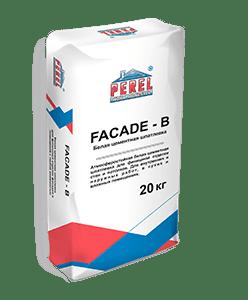 Шпатлевка цементная Perel FACADE-B