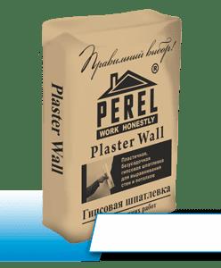 Шпаклевка гипсовая Perel Plaster Wall