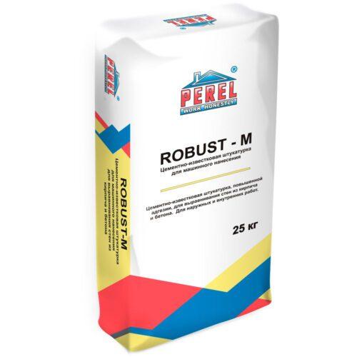 Цементно-известковая штукатурка Perel Robust-M